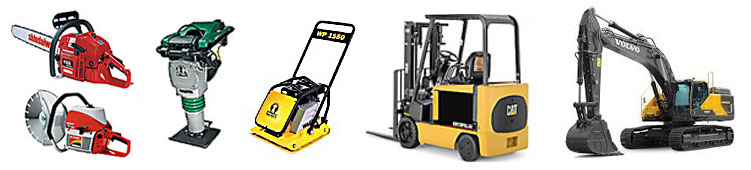 Equipment rentals in Olympia Washington, Lacey, Tumwater, McCleary, Fort Lewis