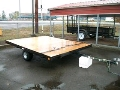 Rental store for TRAILER, 8 X 10  FLAT TRAILER in Olympia WA