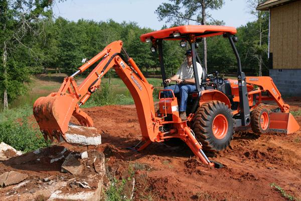 Kubota Tractor Loader Forklift : Backhoe foot kubota b rentals olympia wa where to