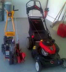 Where to find BAGGING MOWER   EDGER PACKAGE in Olympia