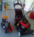 Rental store for BAGGING MOWER   EDGER PACKAGE in Olympia WA
